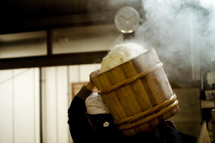 Japanese sake production
