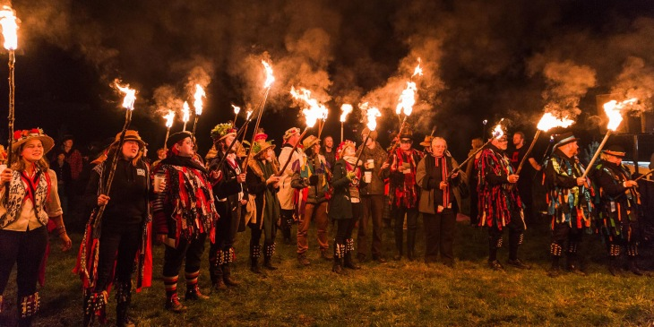 Wassailing with Willie Smith's Cider at the Huon Valley Mid-Winter Festival