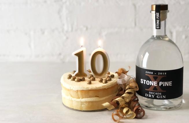 Stone Pine Distillery Decade Dry Gin